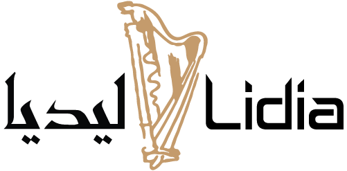 Lidia Stankulova, professional harpist, based in the Middle East since 2004